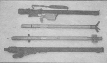 """Сравнение комлексов и ракет """"Стрелы-2М"""" (вверху) и """"Иглы-1"""" (внизу)"""