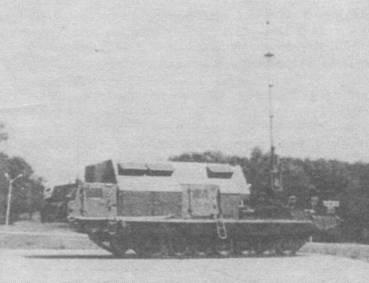 Командный пункт (КП) 9С457 комплекса С-300В