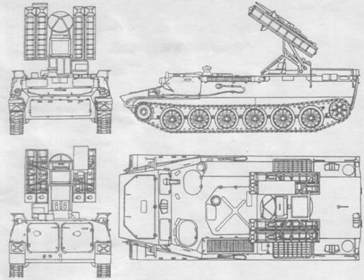 """БМ 9А35 ЗРК """"Стрела-10"""""""