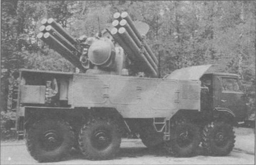 Зенитный пушечно-ракетный комплекс