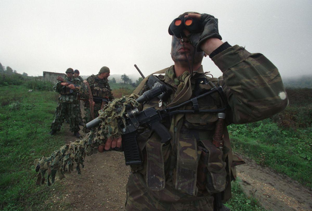 Варианты боевого порядка разведывательной группы