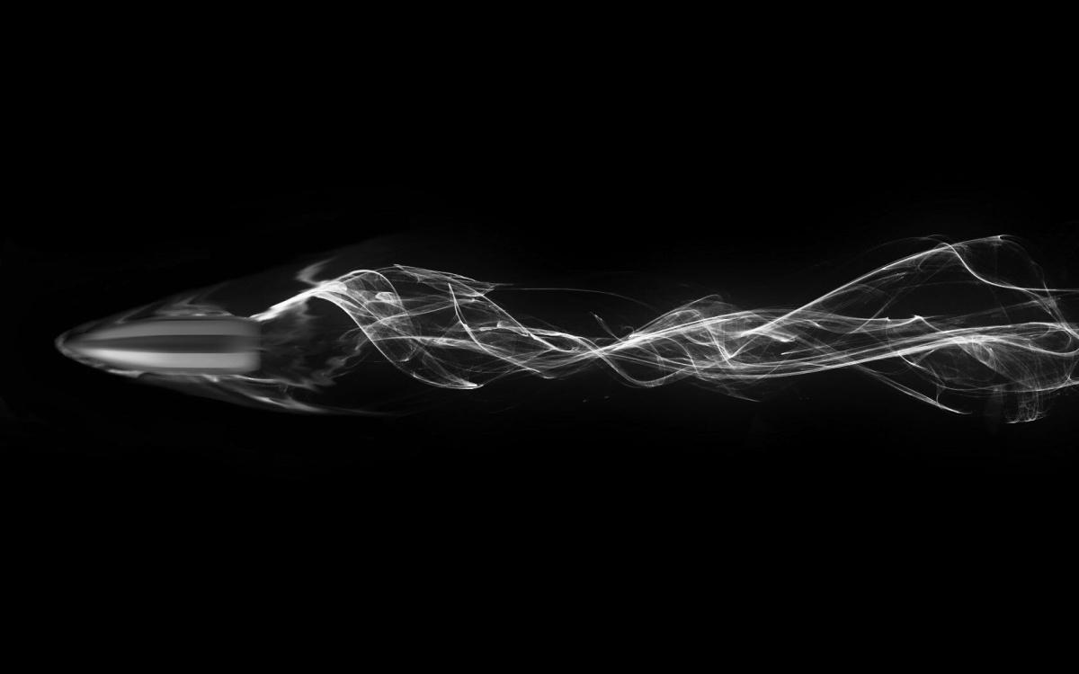 1000000 кадров в секунду Медленное видео движения пули